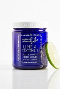 "Captain Blankenship Organic Body Scrub ""Lime & Coconut"""