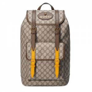 Gucci Men Soft GG Supreme Backpack