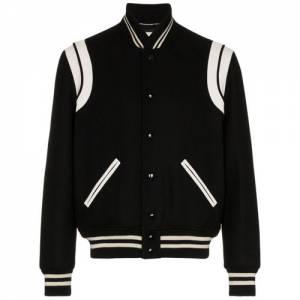 """Saint Laurent Men's Bomber Jacket """"College"""""""