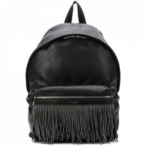 "Saint Laurent Backpack ""City"" Fringe"