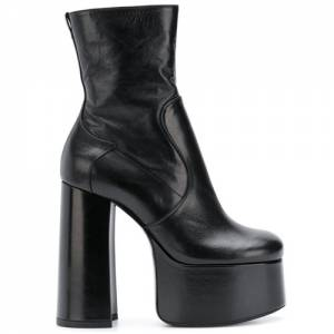 Saint Laurent Women's Platform Ankle Boots