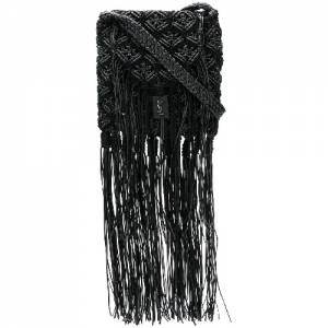 "Saint Laurent Bag ""Fringe Satchel Crossbody"""