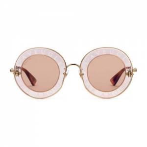 """Gucci Round Sunglasses """"L'Aveugle Par Amour"""""""