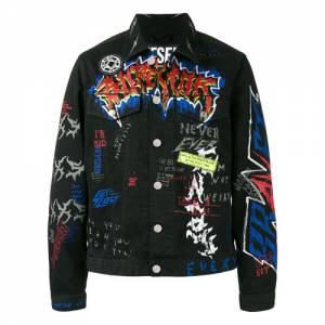 "Diesel Denim Jacket ""Graffiti"""