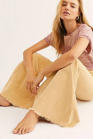 "Free People Flare Jeans ""Just Float On Cords"""