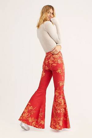 "Free People Flare Jeans ""Just Float On"" Bell Bottoms"