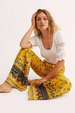 "Free People Flare Jeans ""Just Float On Boho"""