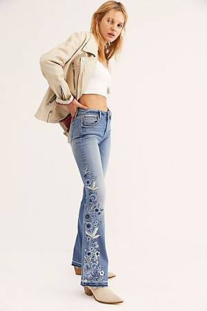 """Driftwood Jeans """"Embroidered Flares"""""""