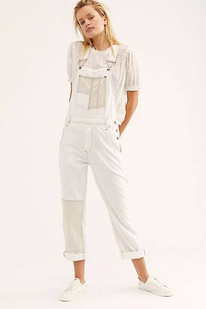 "Free People Denim Overalls ""Carpenter"""
