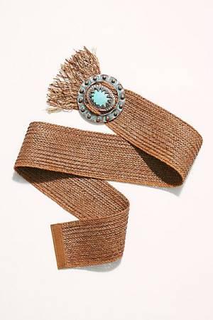 """Leatherock Belt """"Tessa Turquoise"""""""