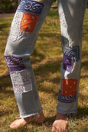 "Vintage Patchwork Jeans ""The Montana"""
