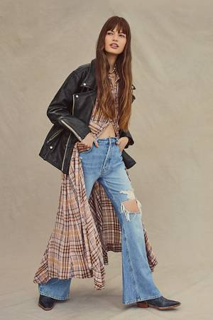 """Free People Flare Jeans """"New Dawn"""""""