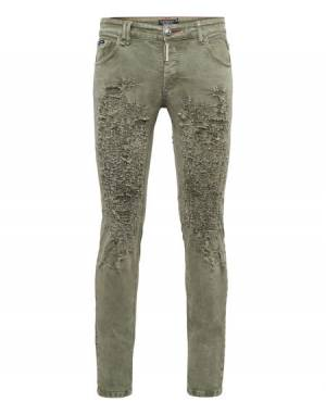 "Philipp Plein Jeans ""ORIGINAL"" Men's Military Pants"