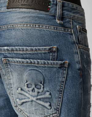 "Philipp Plein Jeans ""ORIGINAL"" Skull Men's Denim"