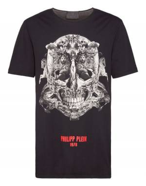 "Philipp Plein Men's T-Shirt ""Skull"""