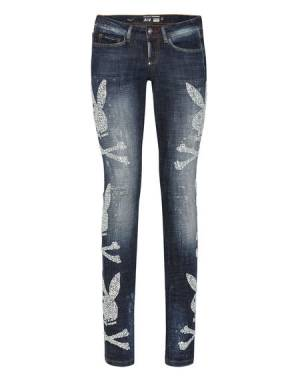 "Philipp Plein Jeans ""PLAYBOY"" Women's Denim Collection"