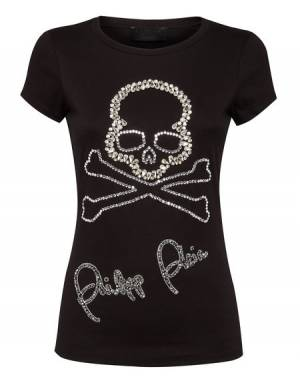 "Philipp Plein T-Shirt ""SKULL"" Women's Tops"