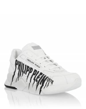 "Philipp Plein Sneakers ""ROCK PP"" Men's Runner Shoes"