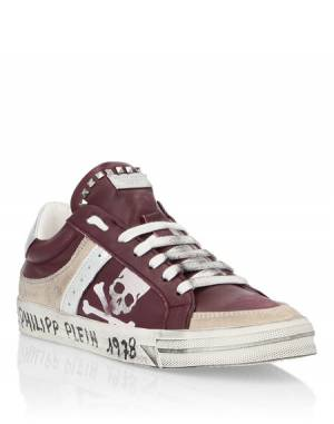 "Philipp Plein Sneakers ""SKULL"" Women's Shoes"
