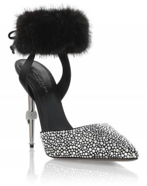 "Philipp Plein Women's Pumps ""LUXURY"" Heel Decollete Shoes"