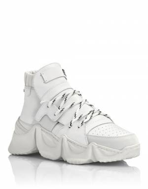 "Philipp Plein Sneakers ""WHITE MONSTER 0.2"""