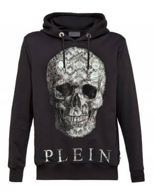 """Philipp Plein Sweatshirt """"PYTHON SKULL"""" Men's Sportswear Hoodie"""