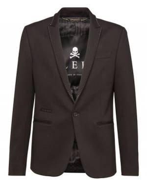 "Philipp Plein Men's Blazer ""STUDDED"" Jacket"