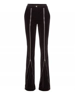 "Philipp Plein Women's Pants ""EVEN IF"" Flares"