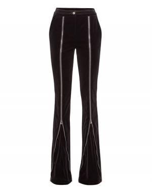"Philipp Plein Women's Pants ""EVEN IF"" Flares"