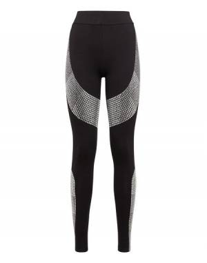 "Philipp Plein Women's Leggings ""CRYSTAL ME"""
