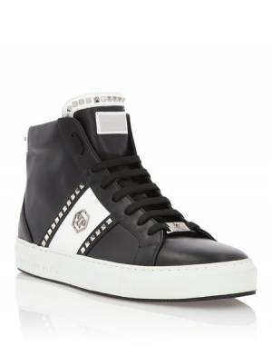 "Philipp Plein Men Sneakers ""HERB"" Hi-Tops"