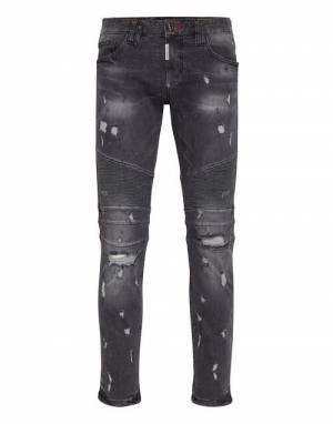 "Philipp Plein Jeans ""DESTROYED BIKER"""