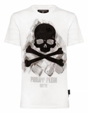 """Philipp Plein T-Shirt """"WHITE SS SKULL"""""""