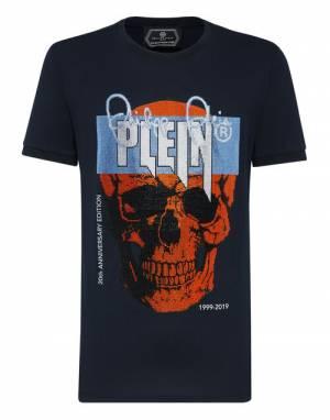"Philipp Plein Men's T-Shirt ""PLATINUM SKULL"""