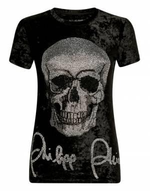 "Philipp Plein T-Shirt ""CRYSTAL SKULL"""