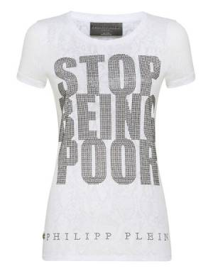 "Philipp Plein T-Shirt ""RICH GIRL"""