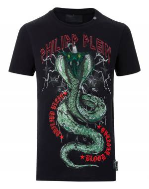 "Philipp Plein ""PARTY ALL THE TIME"" Cobra T-Shirt"
