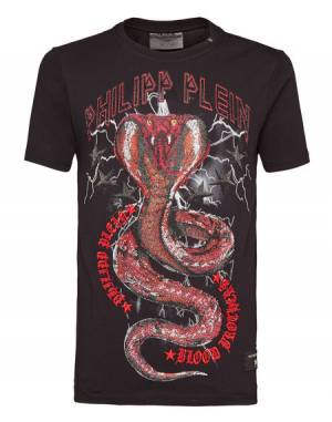 "Philipp Plein Men's T-Shirt ""PARTY ALL THE TIME"""