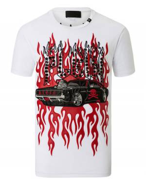 "Philipp Plein Men's T-Shirt ""SQUARE"""