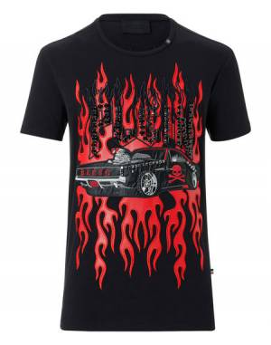 "Philipp Plein ""SQUARE"" Graphic T-Shirt"