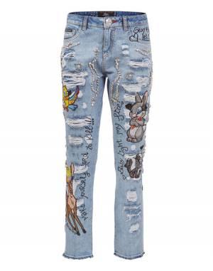 "Philipp Plein Women's Boyfriend Jeans ""PURE BLISS"""