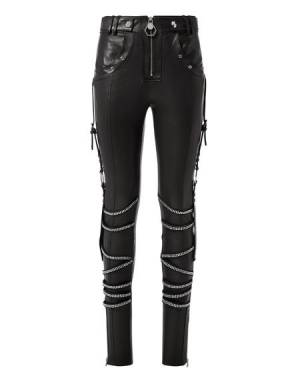 Philipp Plein Women's Leather Pants