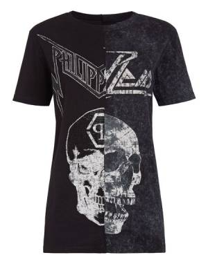 "Philipp Plein T-Shirt ""SKULL"" Women's Runway Collection"