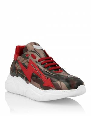 "Philipp Plein Men's Sneakers ""THUNDER"""
