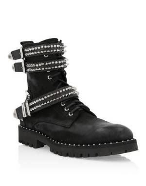 "Philipp Plein Men's Boots ""COMBAT"""