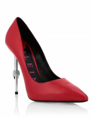 "Philipp Plein Pumps ""RED DECOLLETE"""