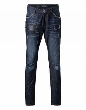 "Philipp Plein Men's Jeans ""LOVE IT"""