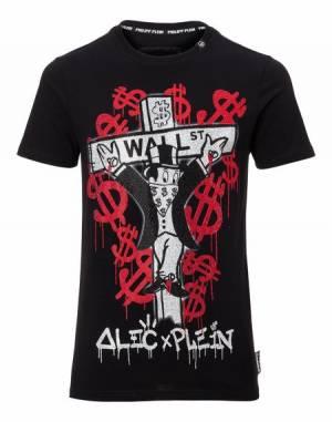 """Philipp Plein """"MONOPOLI"""" Alec X Plein T-Shirt"""