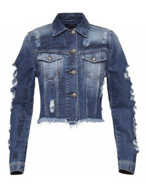 "Philipp Plein Women's Denim Jacket ""FREESIA"""