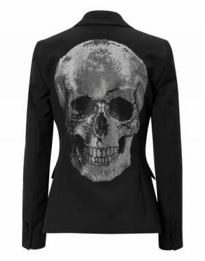 """Philipp Plein Skull Blazer Jacket """"ODRIA GREM"""""""